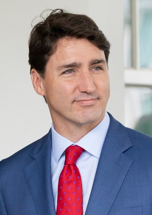 Prime Minister of Canada, Justin Trudeau, smiling